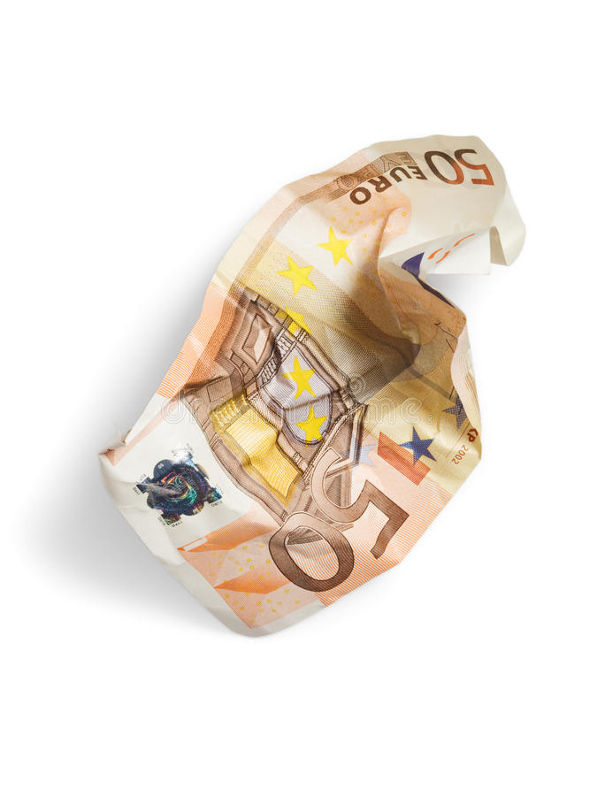 Download Crumpled Money stock image. Image of loss, image, high - 16940879