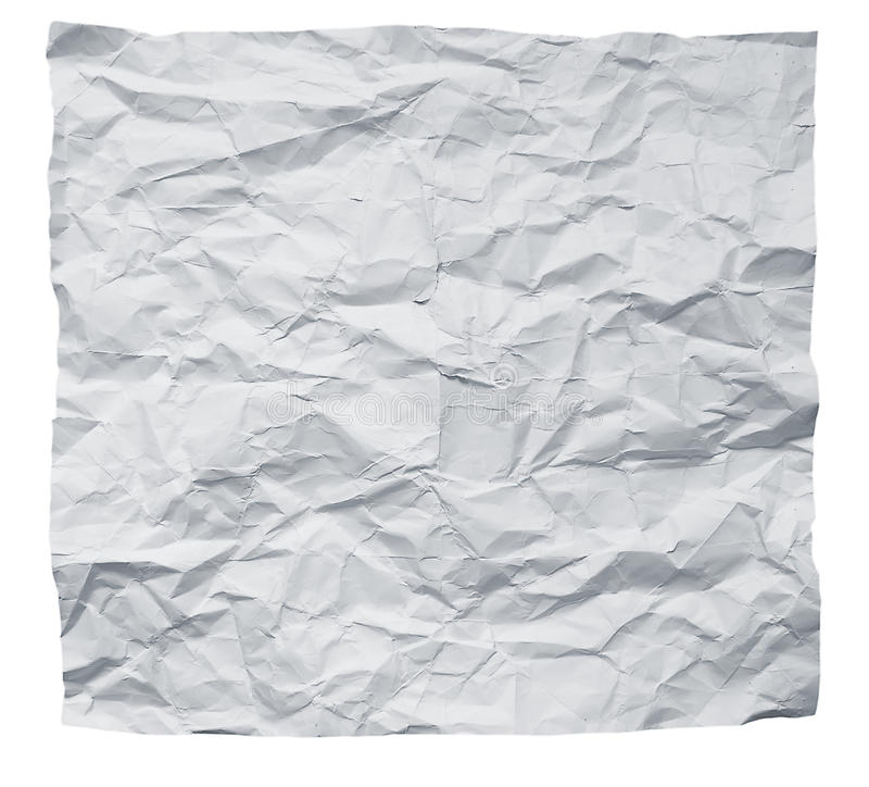 Free Crumpled Paper Royalty Free Stock Photos - 20113218
