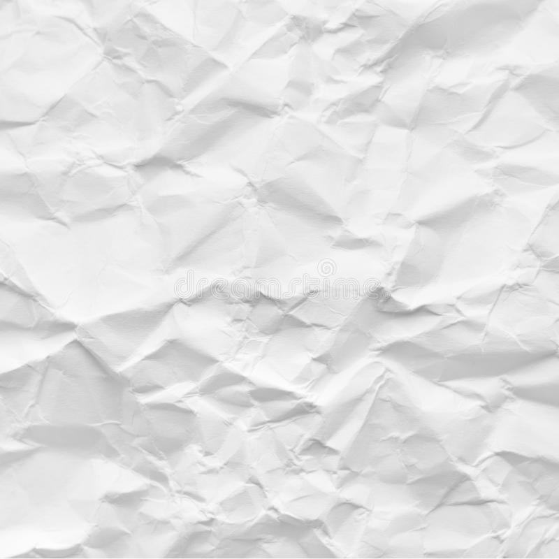 Crumpled paper, abstract background royalty free stock images