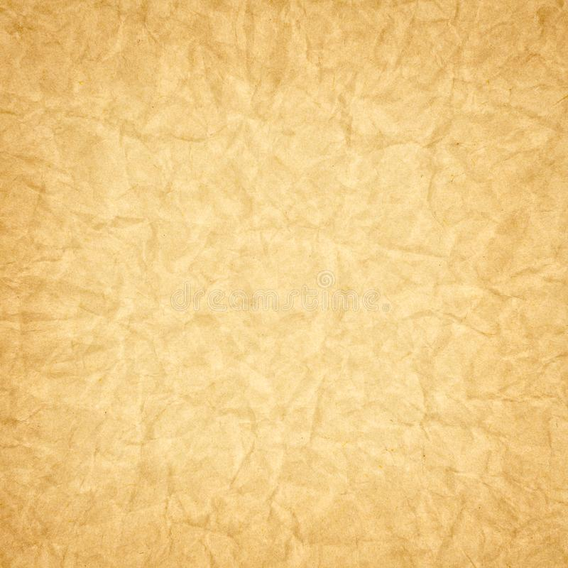 Crumpled paper for background usage. The Crumpled paper for background usage royalty free stock photo