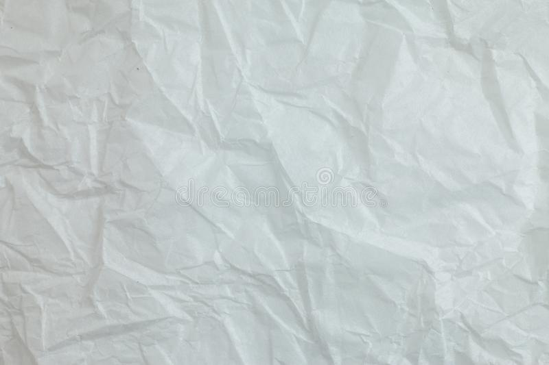 Crumpled paper background. Crumpled white paper a background vector illustration