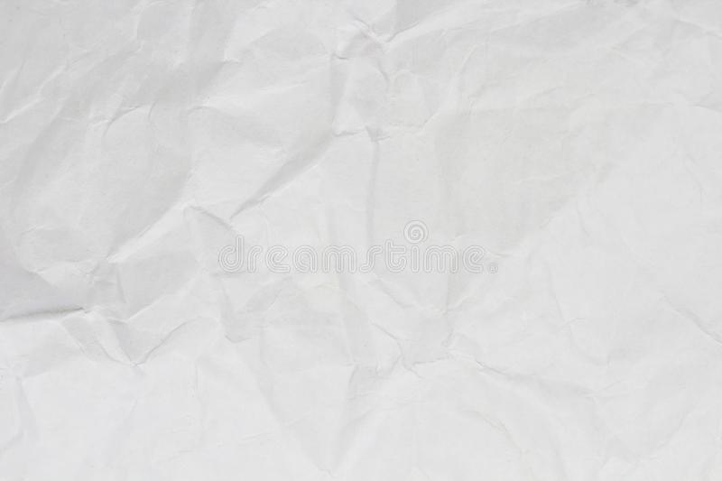 Crumpled paper. royalty free stock photos