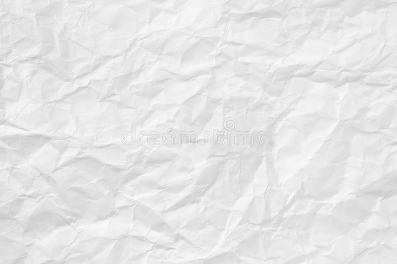 Crumpled Paper Texture royalty free stock images