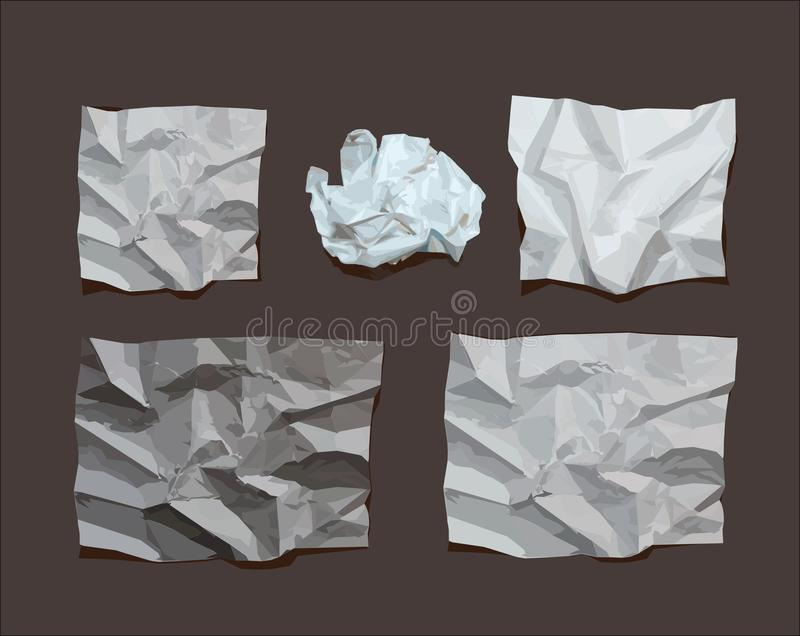 Download Crumpled Paper Royalty Free Stock Photo - Image: 34419775