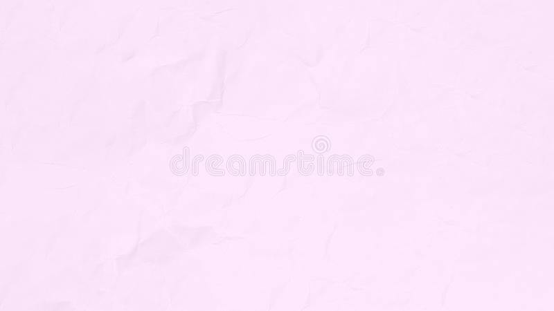 Crumpled pink paper texture background for business, education design. royalty free stock photo