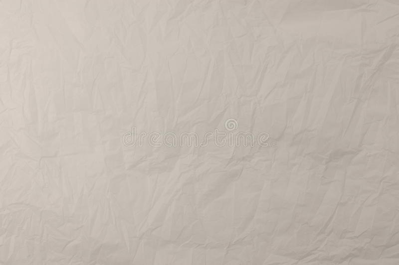 Crumpled Plastic Texture background. White Crumpled Plastic Texture background stock photography