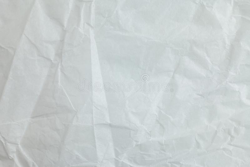 Crumpled paper background. Crumpled white paper a background royalty free illustration