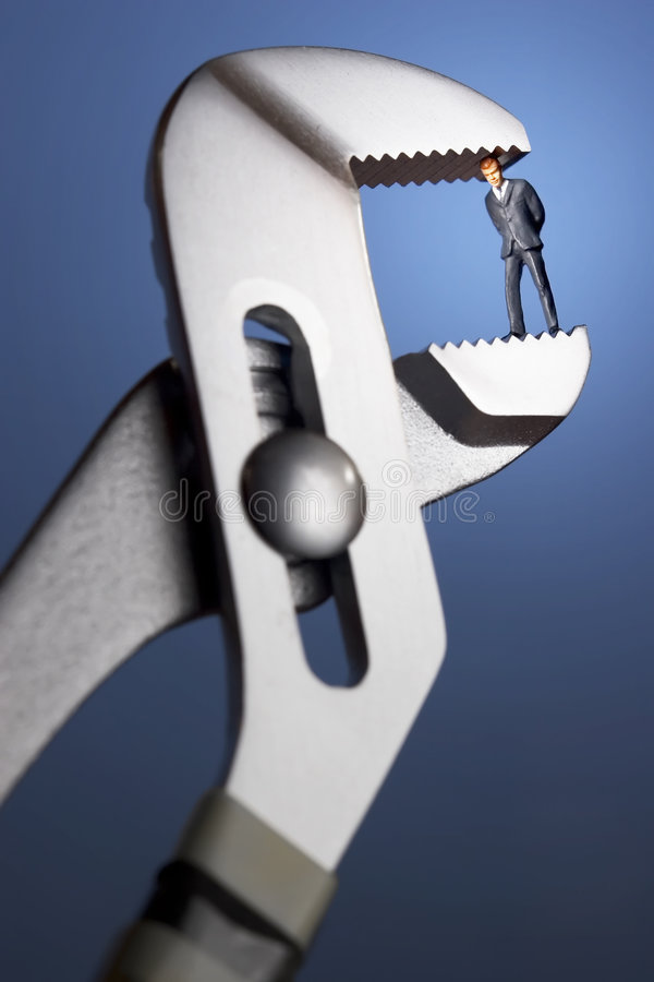 Crunch time stock images