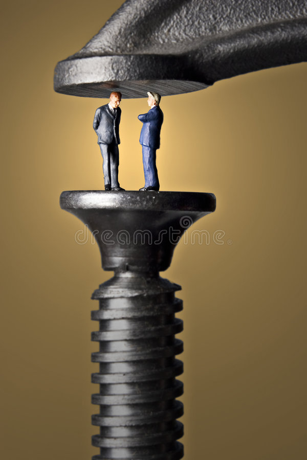 Download Crunch time stock image. Image of figurine, conceptual - 457715