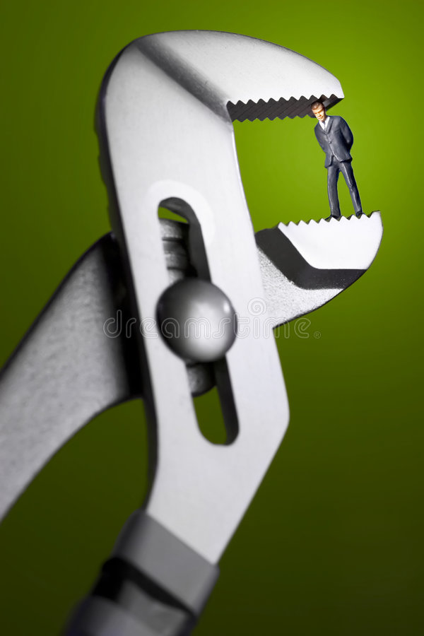 Download Crunch time stock photo. Image of clamp, clampdown, boss - 594112