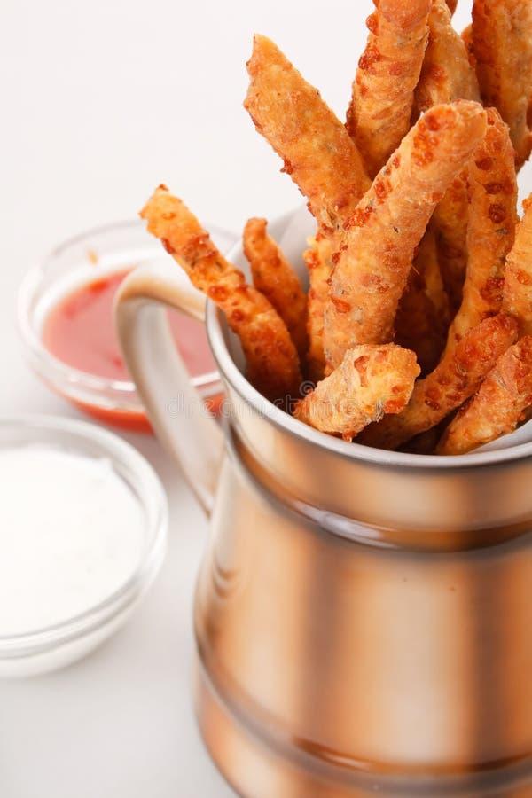 Crunchy Breadsticks Royalty Free Stock Photo