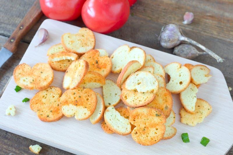 Crunchy bruschetta стоковая фотография