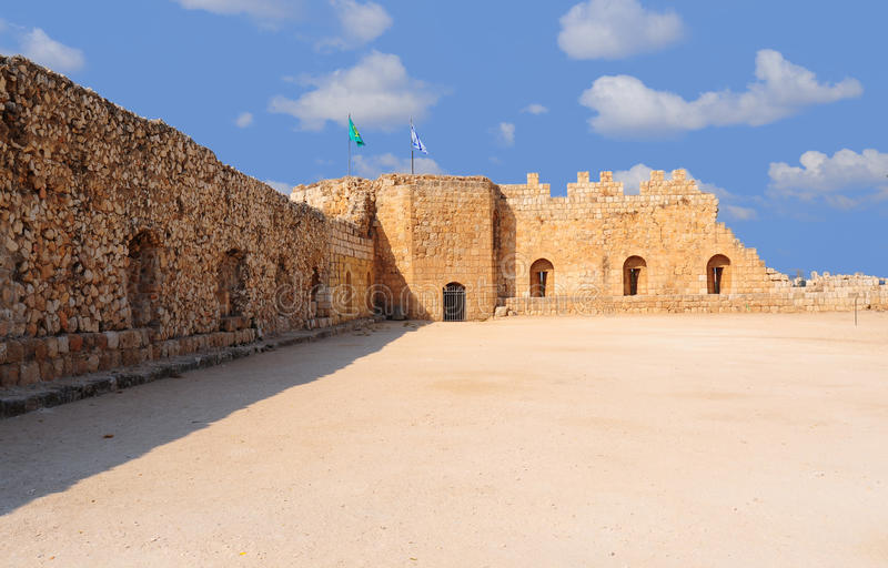 Download Crusader Fortress stock photo. Image of antique, architecture - 10861394