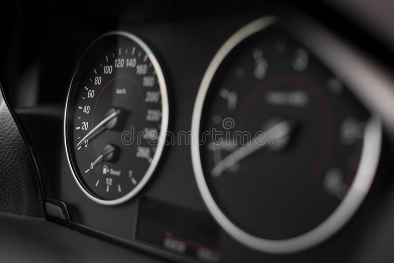 Cruscotto dell'automobile immagine stock