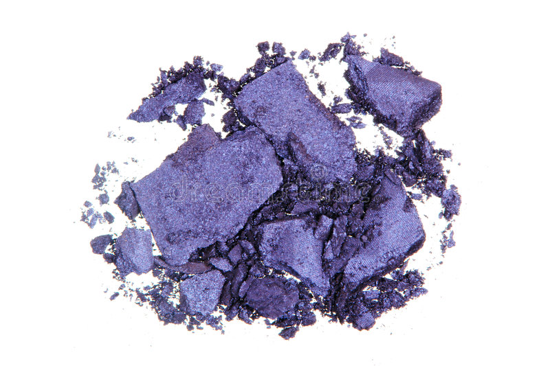Crushed Eyeshadow Stock Photography