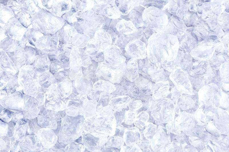 Crushed ice background or texture royalty free stock photography