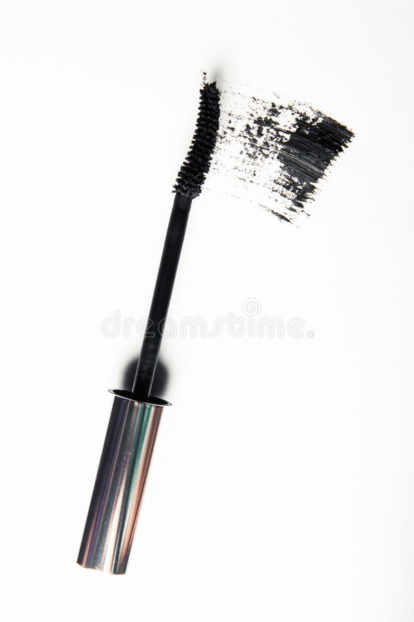 Crushed make-up products - beauty and cosmetics styled concept. Elegant visuals royalty free stock photos