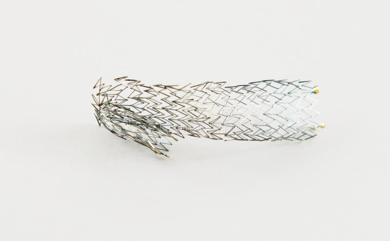 Download Crushed stent stock image. Image of blockage, internal - 27278333