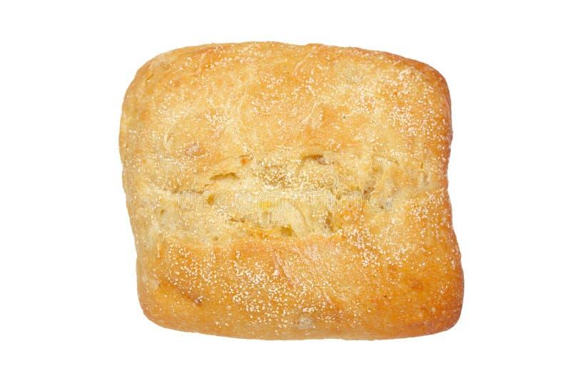 Crusty bread bun stock image