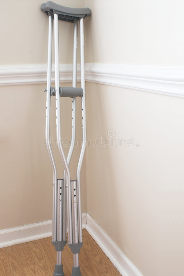 Download Crutches stock photo. Image of aluminum, support, prop - 2308480