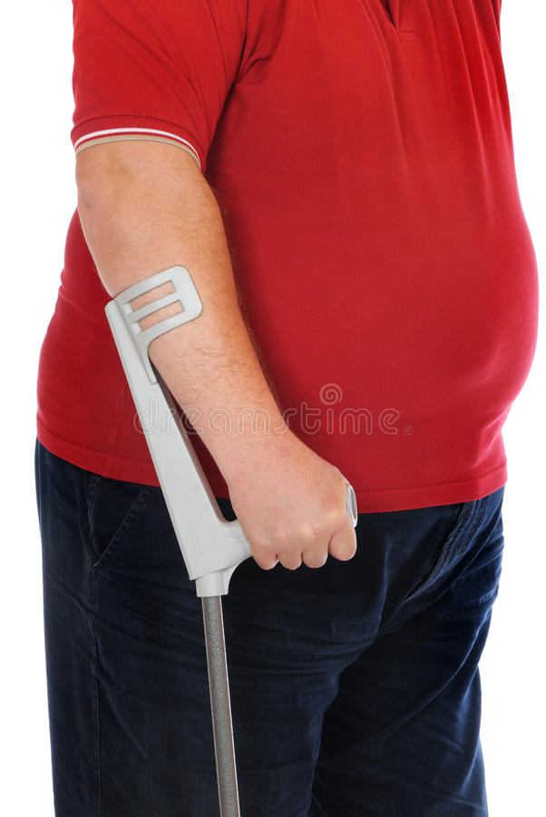 Download Crutches stock image. Image of male, hospital, white - 24942717