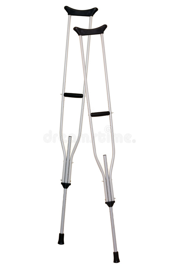 A crutches stock images
