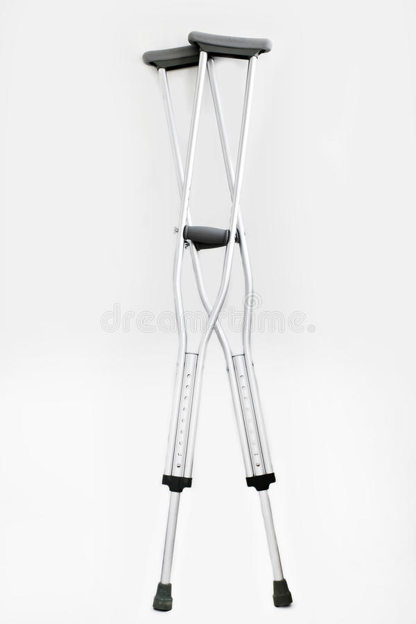 crutches fotos de stock
