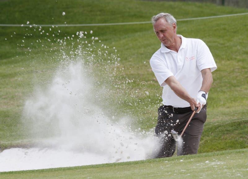 Cruyff bij golf 021 royalty-vrije stock foto