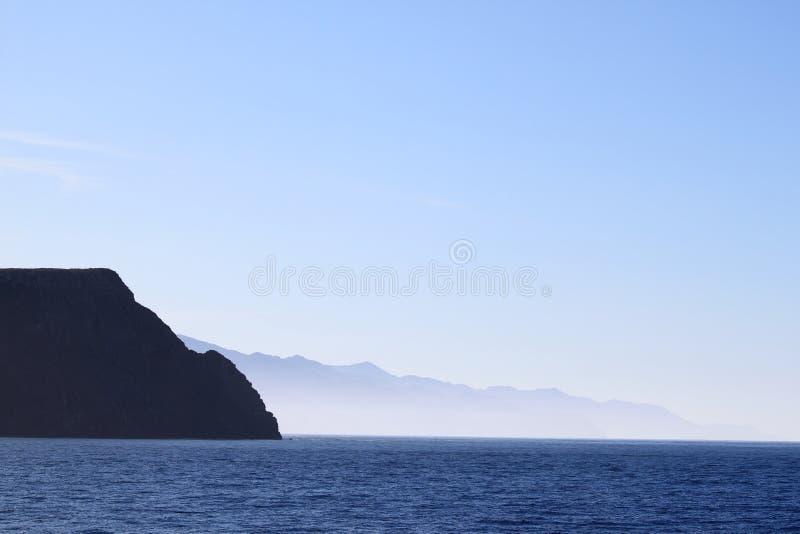 cruz海岛圣诞老人 库存照片