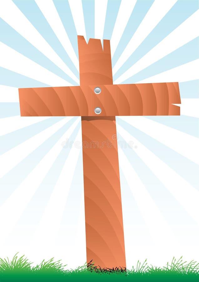 Cruz ilustración del vector