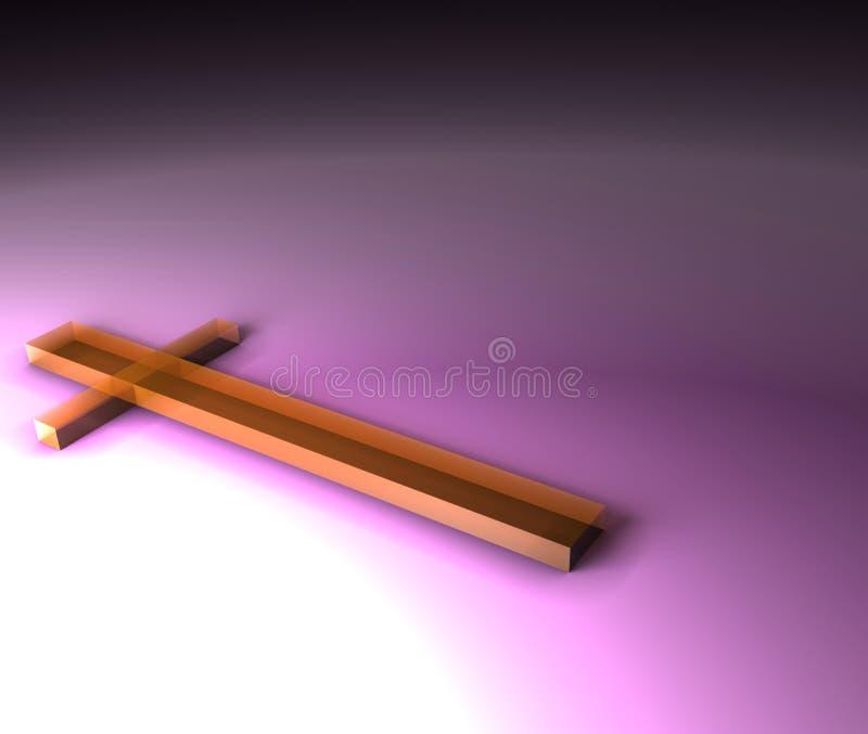 Cruz stock de ilustración