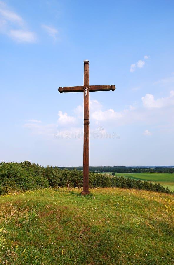 Cruz imagem de stock