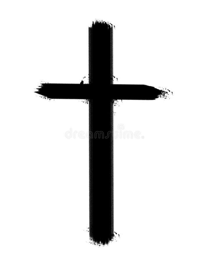 Cruz ilustração do vetor