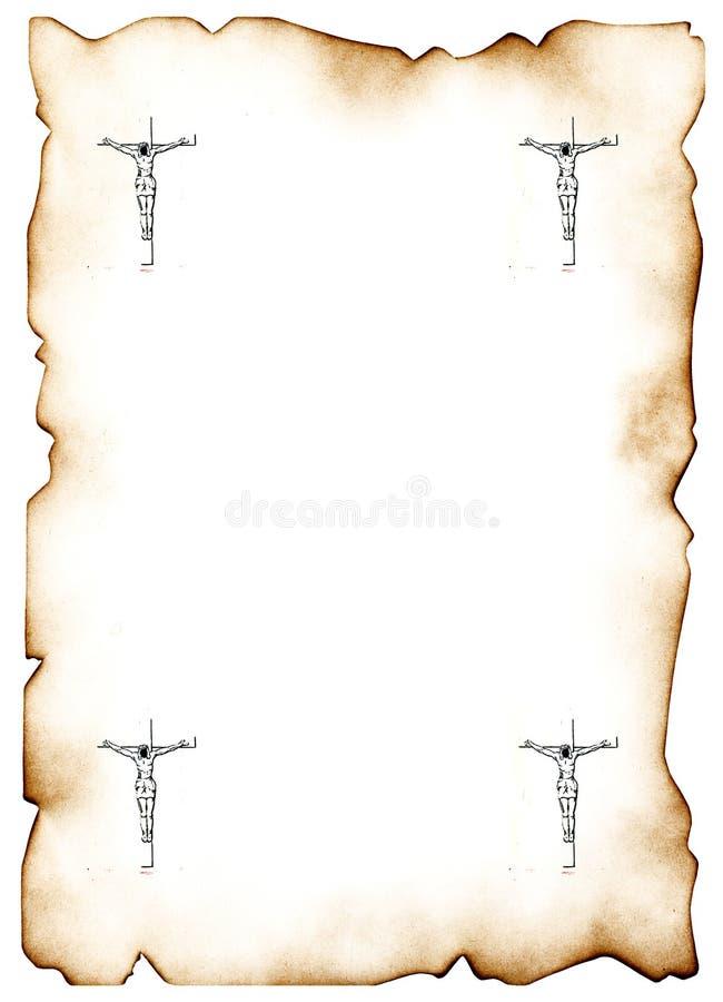 Cruz 3 del Jesucristo ilustración del vector
