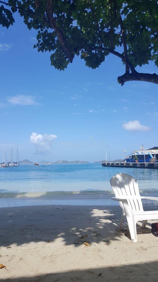 Cruz Bay stock fotografie