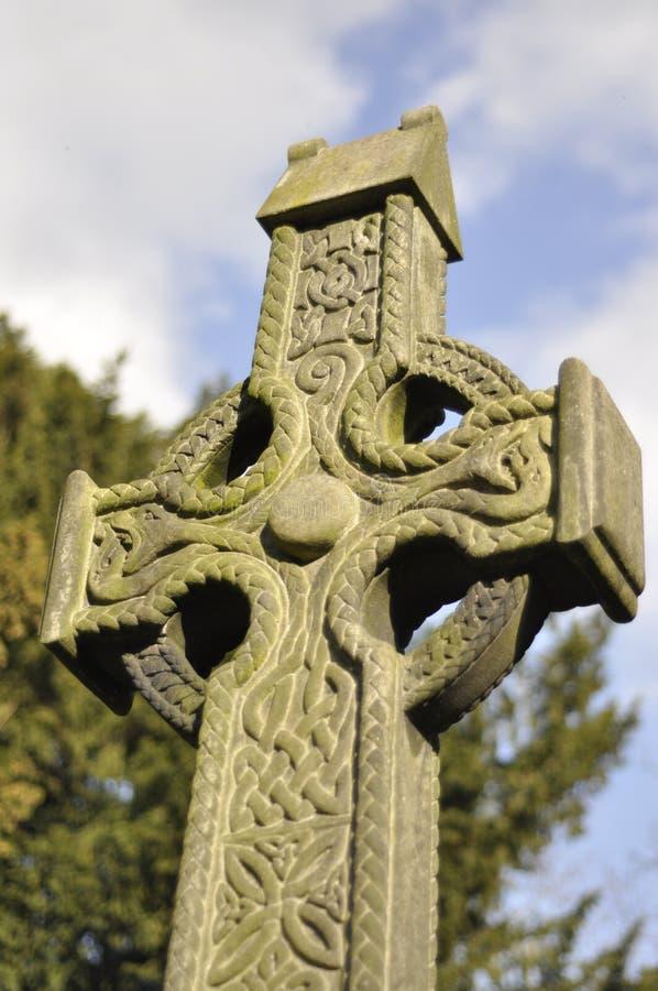 Cruz céltica foto de archivo libre de regalías