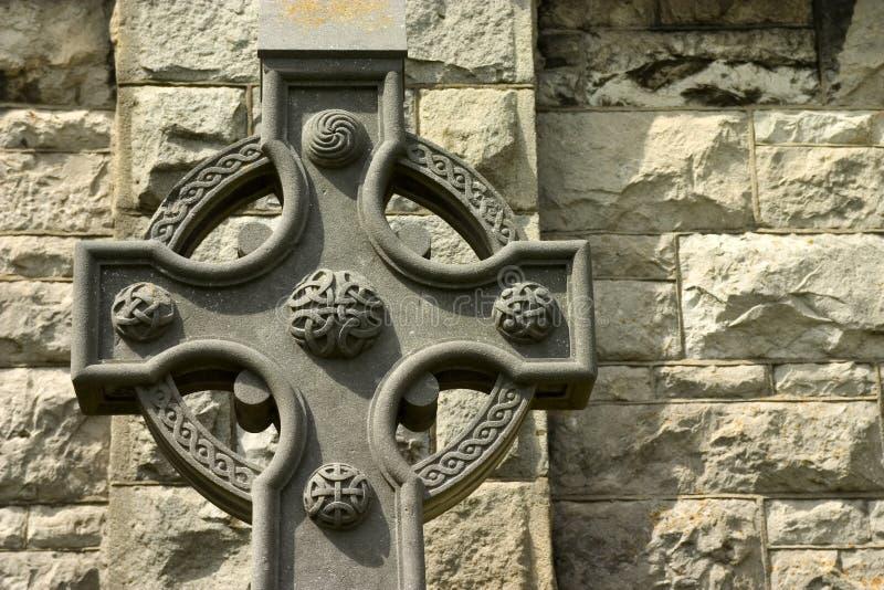 Cruz céltica. imagen de archivo libre de regalías