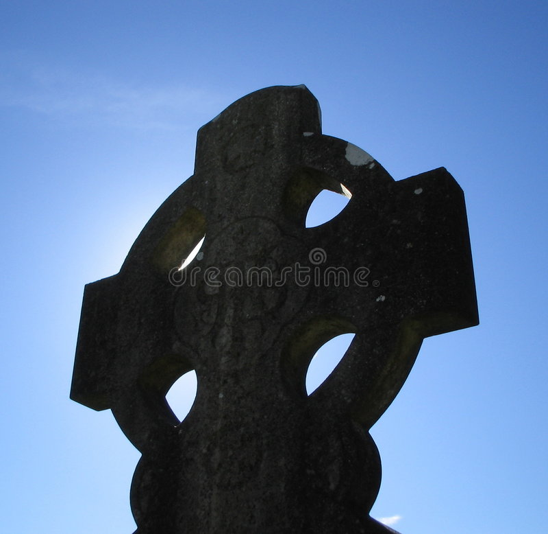 Cruz celta imagem de stock royalty free