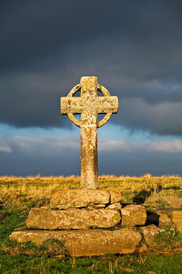 Cruz celta foto de stock royalty free