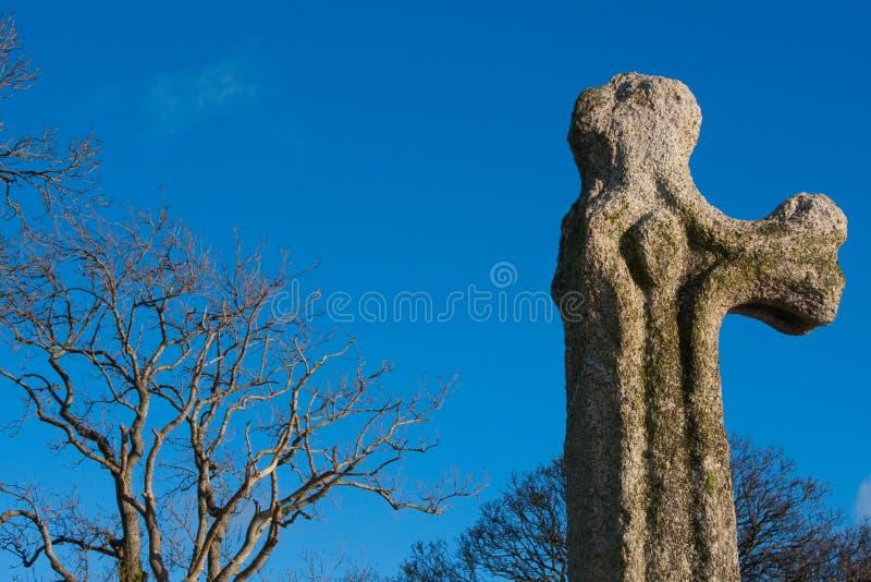 Cruz celta antiga imagem de stock royalty free