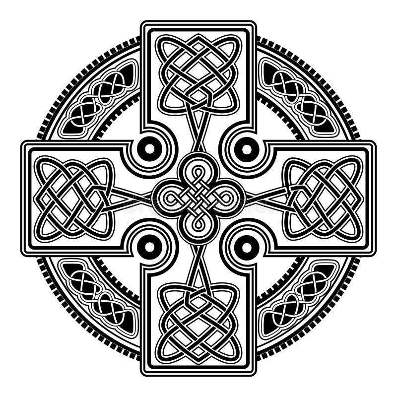 Cruz celta do vetor ilustração do vetor