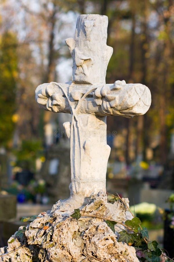 Cruz con crucificado fotos de archivo libres de regalías