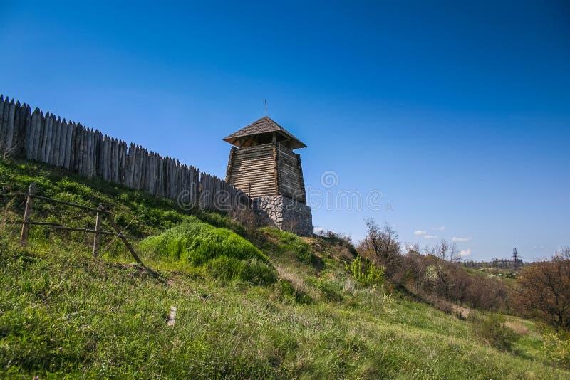 Cruz cosaca memorable imagen de archivo libre de regalías