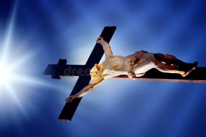 Cruz cristã fotografia de stock royalty free