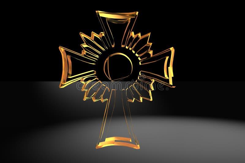 Cruz cristã foto de stock royalty free
