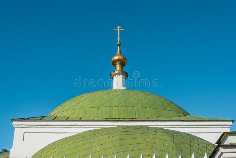 Cruz da igreja ortodoxa fotos de stock royalty free