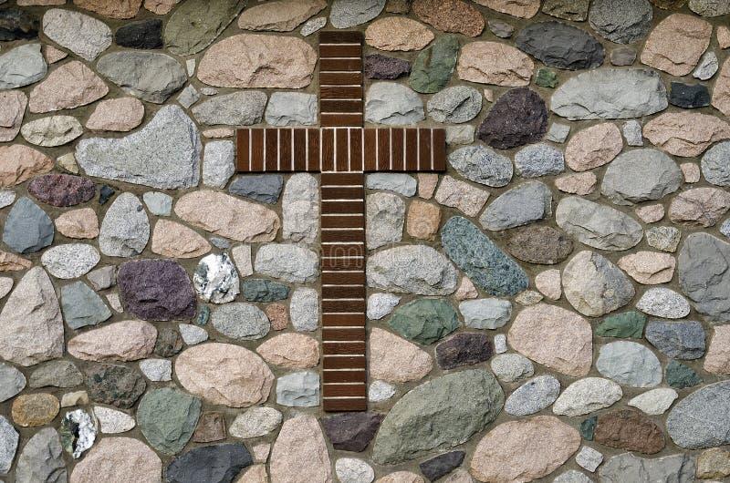 Cruz de Brown imágenes de archivo libres de regalías