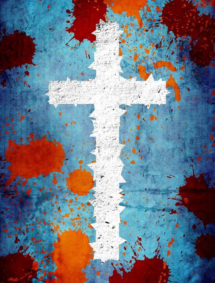 Cruz de Grunge libre illustration