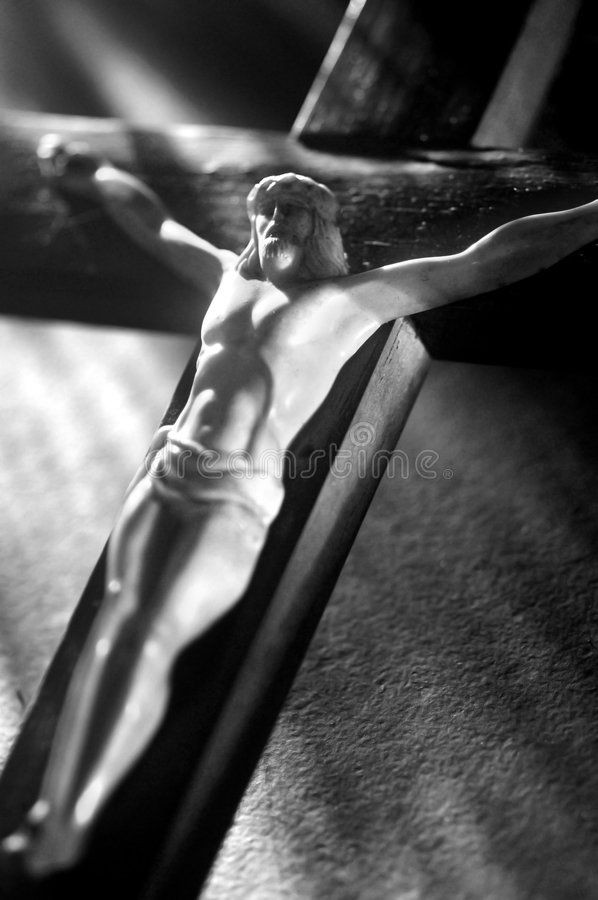 Cruz de Jesús imagenes de archivo