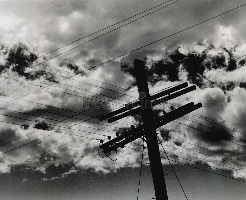 Cruz de la tormenta fotos de archivo